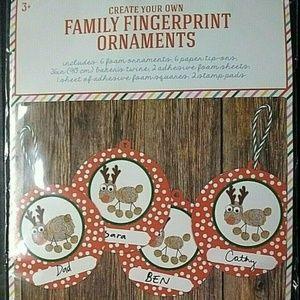 Horizon DIY Create Your Own Family Fingerprint Kit
